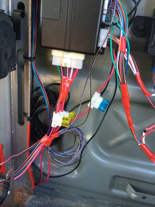 audiovox remote start wiring diagram  2001 ford super duty