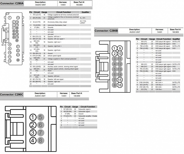 2007 ford f 150 wiring harness diagram