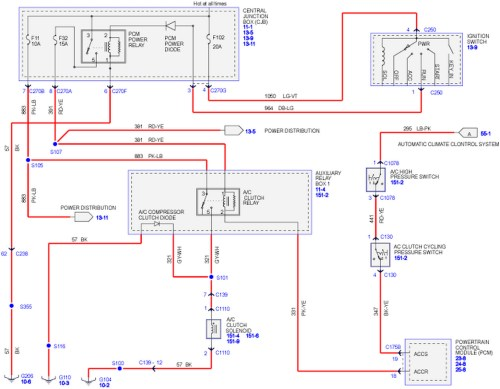 small resolution of ford a c wiring diagram wiring diagram library 2007 ford f150 ac diagram 2007 ford f150 ac diagram
