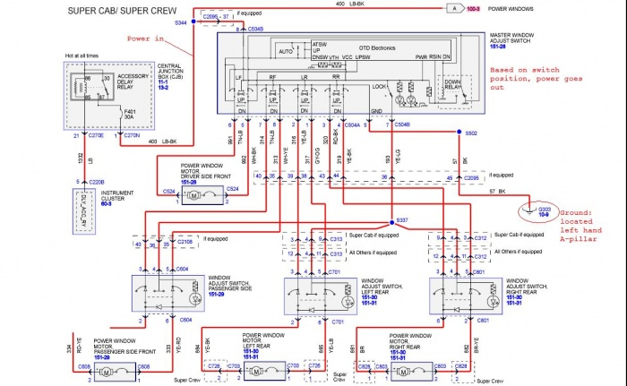 australian trailer light wiring diagram garden solar window malfunction - ford f150 forum community of truck fans