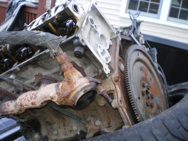 Fordf15046enginediagram Ford F 150 4 6 Liter Engine On