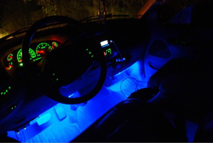 Bars Light Trucks Blue
