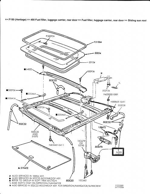 This gen's sunroof design concerns me...Leak solved