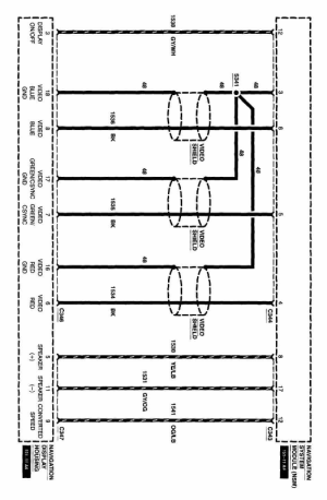 Wiring harness diagram pinout needed (Center console, NavigatorExpedition)  Page 2  Ford