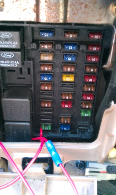 1997 Ford F150 Fuse Box Diagram Ford Truck Enthusiasts Forums