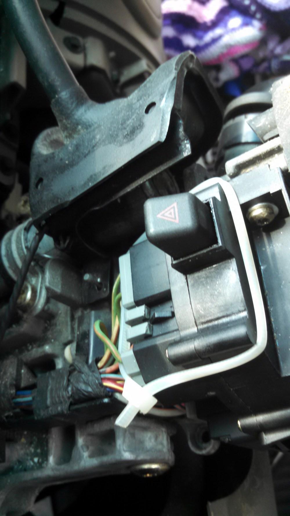 medium resolution of broken mfs connector turn signal switch repair mfs broke connector