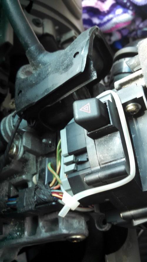 small resolution of broken mfs connector turn signal switch repair mfs broke connector