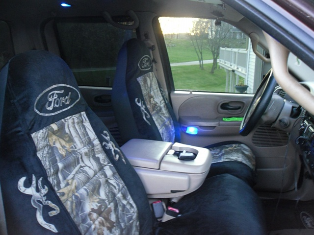 Custom Camo Ford And Browning Seat Covers Ford F150