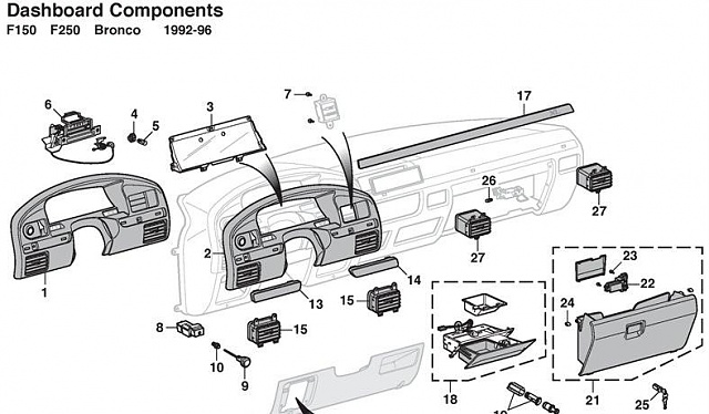 01 ford f150 wiring diagram gibson les paul recording 1995 f-150 part out - forum community of truck fans