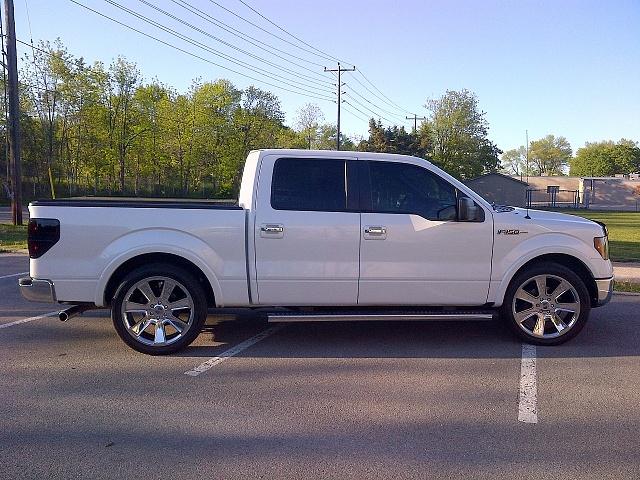 F150 3 Inch Lift White