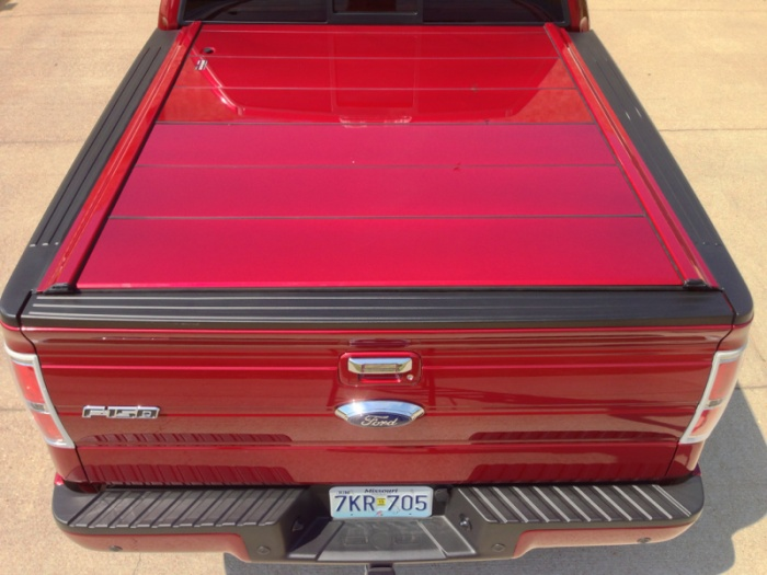 Peragon Truck Bed Covers Now In Custom Paint To Match