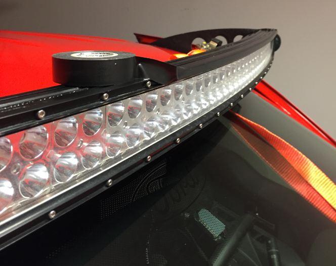 Led Light Bar Wind Noise Fix