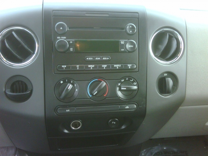 2004 F150 Radio Wiring Diagram How To Remove Factory Radio For Indash Navigation On 2004