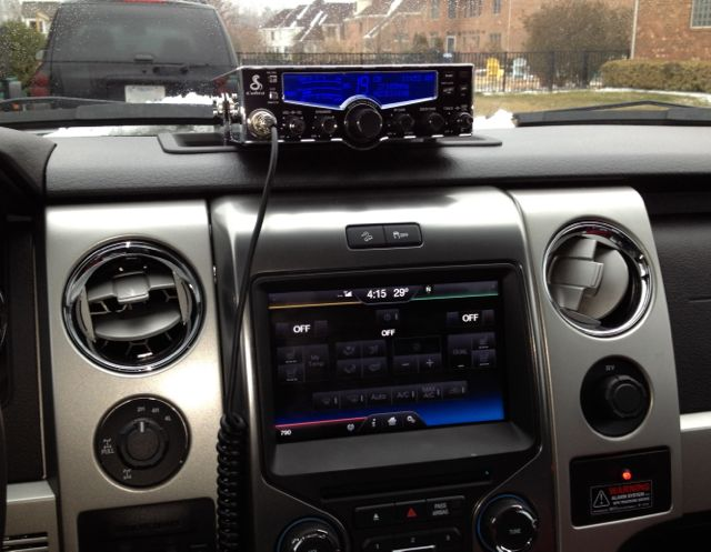 Garmin 17 Gps Wiring Diagram Dash Mount Cb Install How To Ford F150 Forum