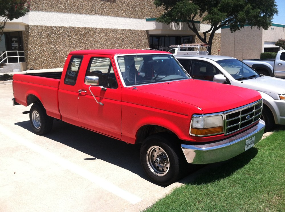 medium resolution of 1995 f150 4x4 totally bed liner paint job 4 quot lift custom lighting