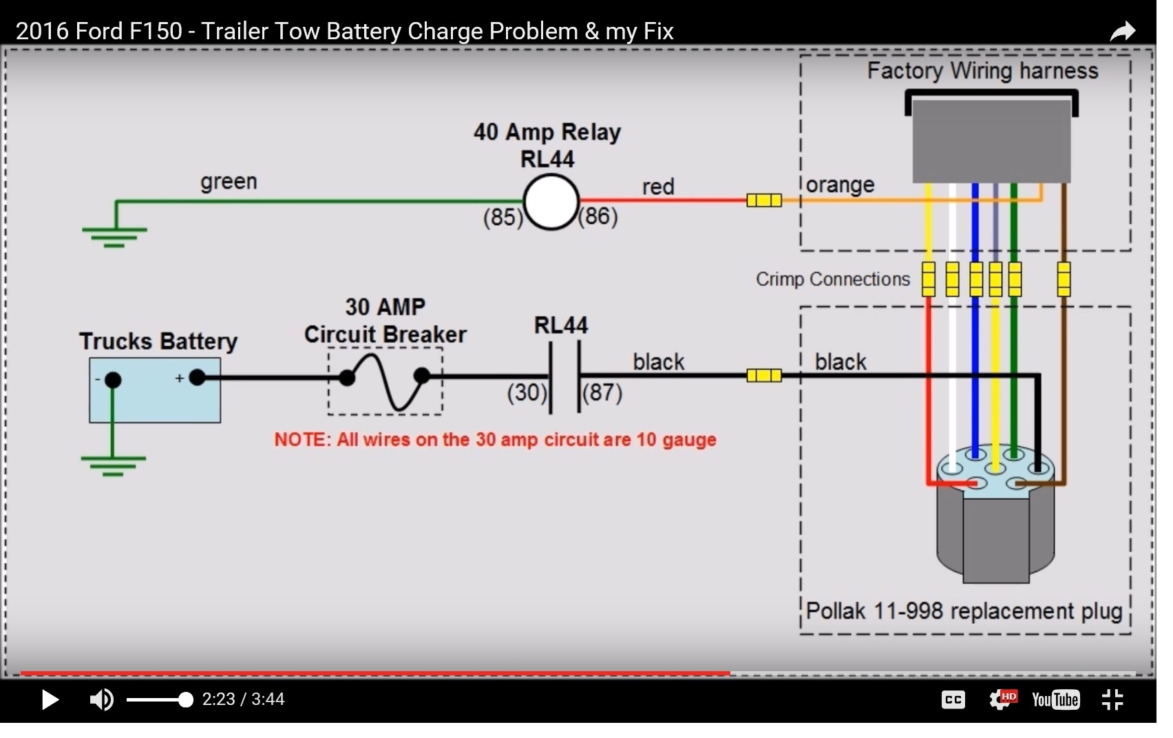hight resolution of relay fuse for battery charges circuit diagram schema wiring diagram 2016 7 pin aux circuit fuse