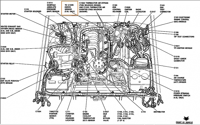 5.0 L 1992 Ford F150 Engine Diagram vacuum line diagram