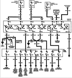 ignition wire diagram 1996 f150  Ford F150 Forum