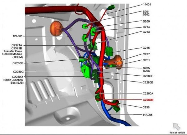 2013 Ford Fusion Fuse Panel Diagram Flasher Relay On A 2010 F150 Ford F150 Forum Community