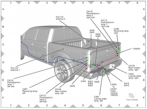 2017 ford ranger trailer wiring diagram spotlight nissan patrol 2011 rear view camera - page 2 f150 forum community of truck fans