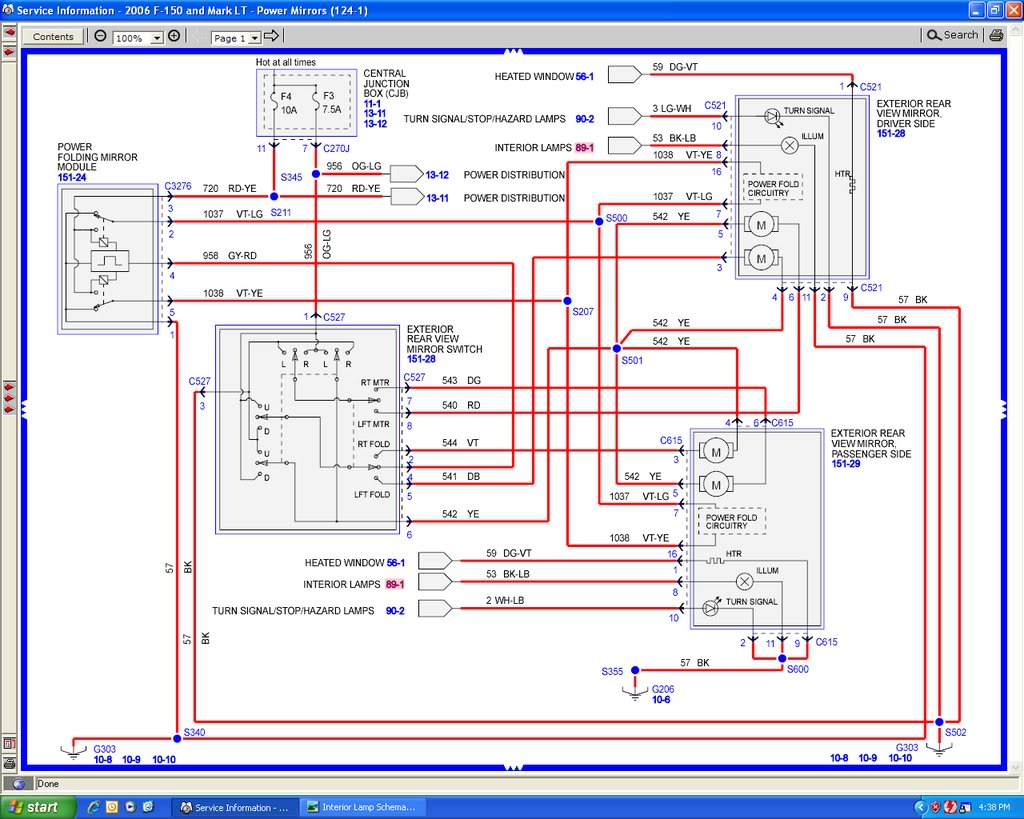 2015 Ford F 150 Tail Light Wiring Diagram Infamous Black And Lt Blue Dome Light Wire F150online Forums