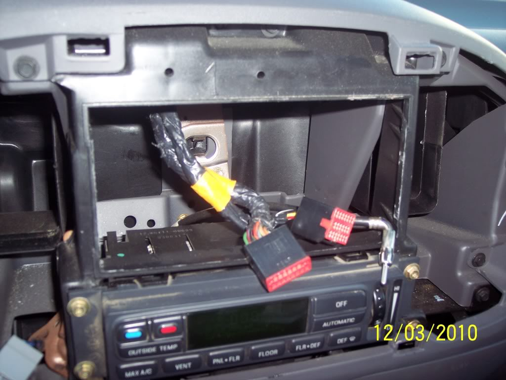 hight resolution of how to install double din unit in 2003 f150 f150online forums 2003 f150 diagram 2003 f150 radio wiring
