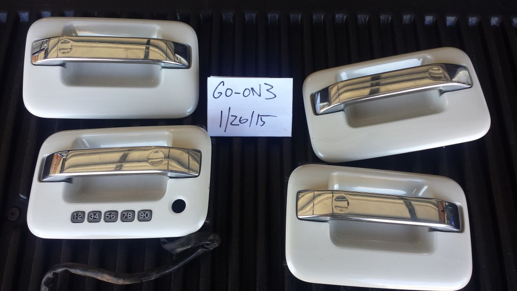 2008 F150 Wiring Harness Oem Painted Door Handles With Keyless Entry Set Of Four