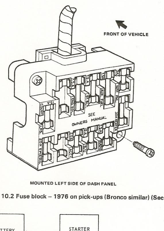 1969 ford f100 fuse box  ipf spotlight wiring diagram for