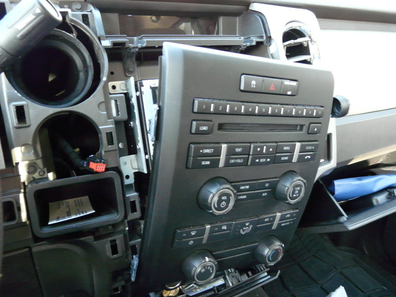 4x4 Wire Diagram My Speaker Upgrade Using Factory Head Unit F150online Forums