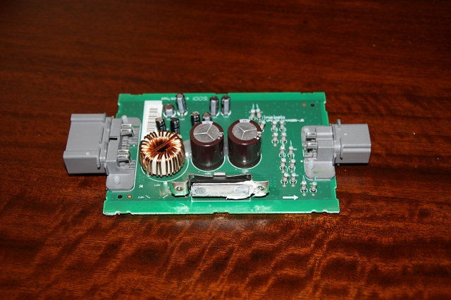 2016 f150 sony wiring diagram fender stratocaster 8 factory sub replacment f150online forums 6 here are photos of the actual subwoofer amplifier module itself only have to remove star pattern screws and this pcb slides right out its