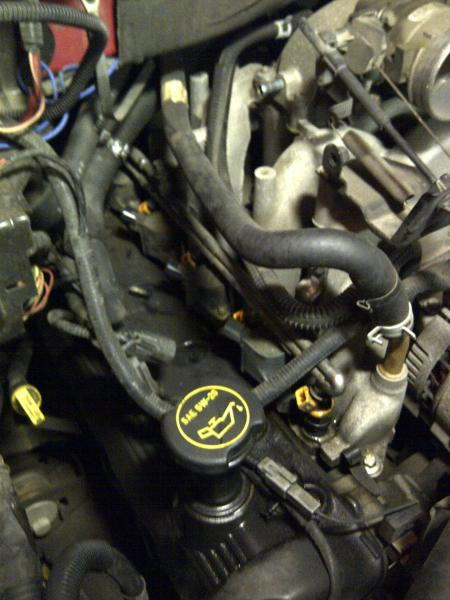 Need Diagram Of Coils For 2000 Ford F 150 2000 Ford F150 Flareside