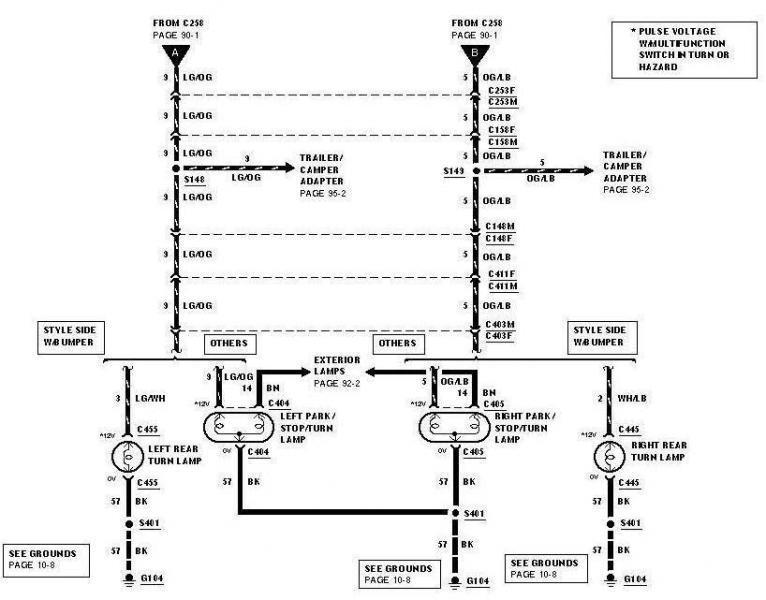 2000 f150 brake wiring diagram