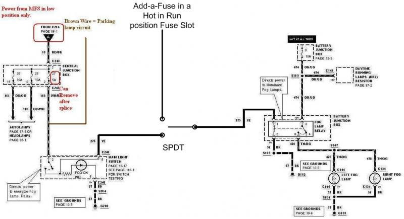 1999 Gmc Sierra Fog Lights Wiring Diagram. Parts. Auto