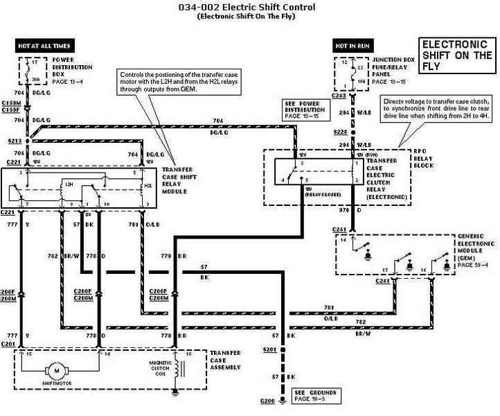1997 expediton xlt 4wd 5.4l 4x4 electrical problems
