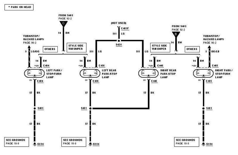 2011 ford f150 tail light wiring diagram