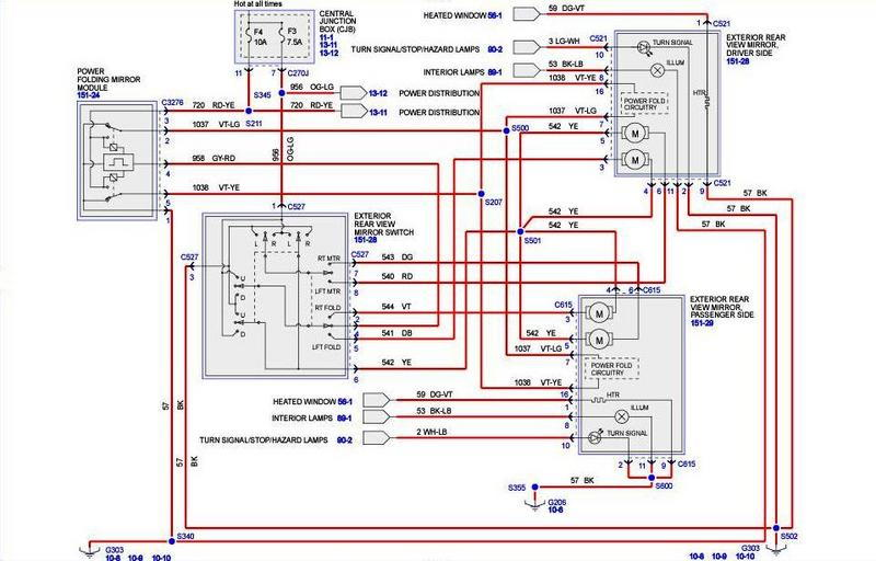 2008 ford f350 ignition wiring diagram hampton bay f 250 power mirror great installation of f250 autos post 2012 2006