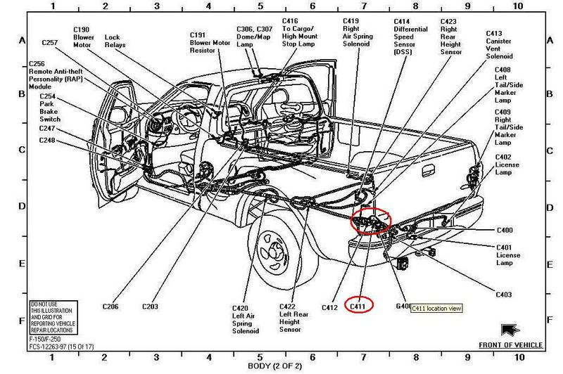 2003 ford f 150 tail lights fuse diagram