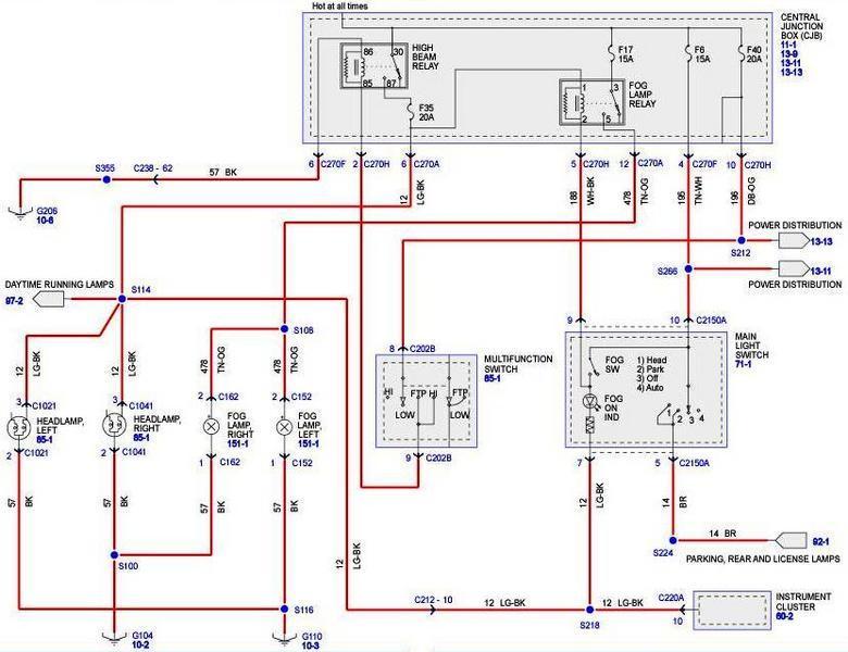 2006 ford f150 wiring diagram lights 1998 dodge ram radio oem foglights f150online forums