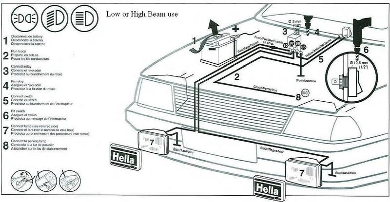 hella 500 fog light wiring diagram