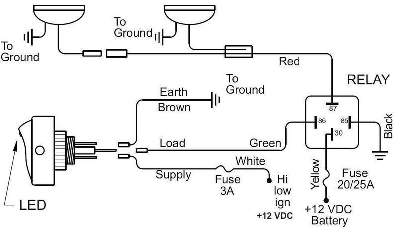 Kc Light Wiring Diagram & Click Image For Larger Version Name