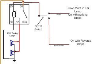 critique my auxreverse light wiring diagram please