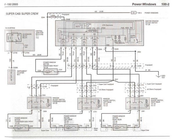 2005 ford f 150 stereo wire diagram