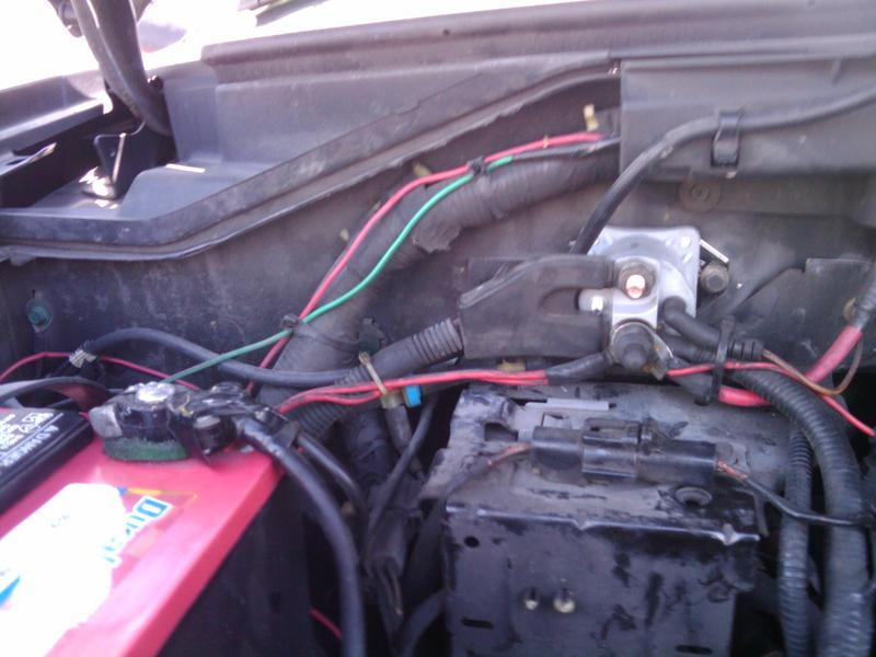 99 F550 Fuse Diagram Stalled Wouldn T Start Then Started F150online Forums