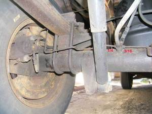 Rear Brake HosesLines  strange fitting size question, and my notes  F150online Forums