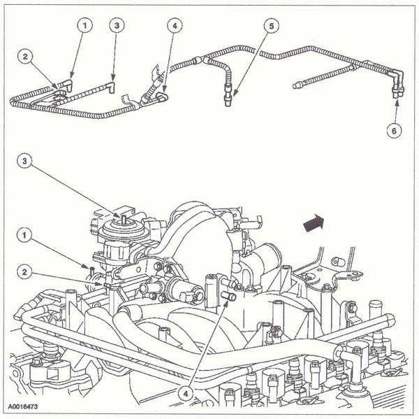 97 Ford 5 4 Triton Engine Diagram 2001 Ford F-250 5.4