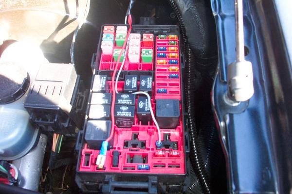 Ford Ranger Fuse Box Diagram View Diagram