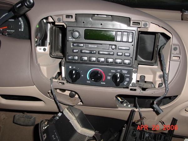 2005 Ford Expedition Stereo Wiring Diagram Removing Cigarette Lighter F150online Forums