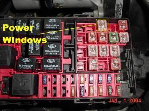 Power Window Fusecircuit breaker  F150online Forums