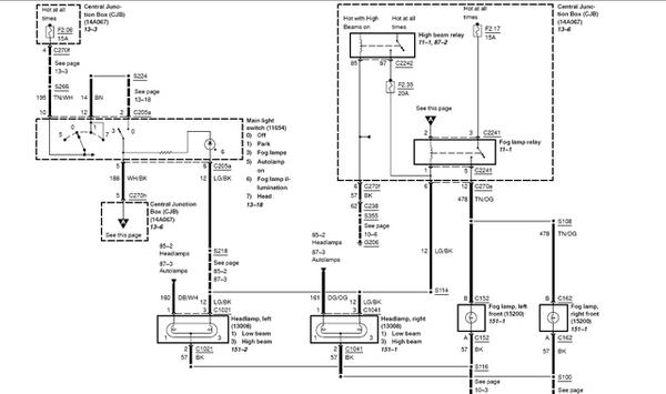 2005 ford f150 wiring harness diagram