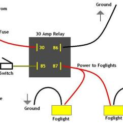 Led Wiring Diagrams Viper 5704 Diagram Fog Light Wire To Driving Lights How Relay And Switchfog Switch